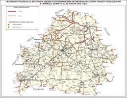 Baltarusijoje – leidžiamos apkrovos ašims pavasario laikotarpiu